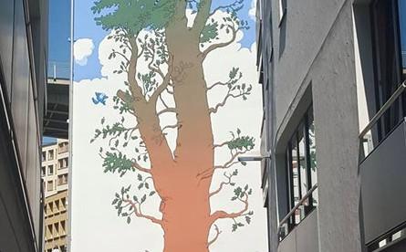 Fresque pour Zep Lausanne