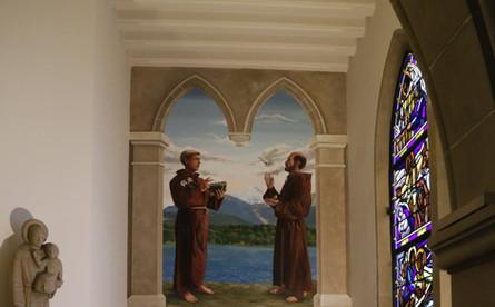 Fresque Eglise St-Joseph Genève