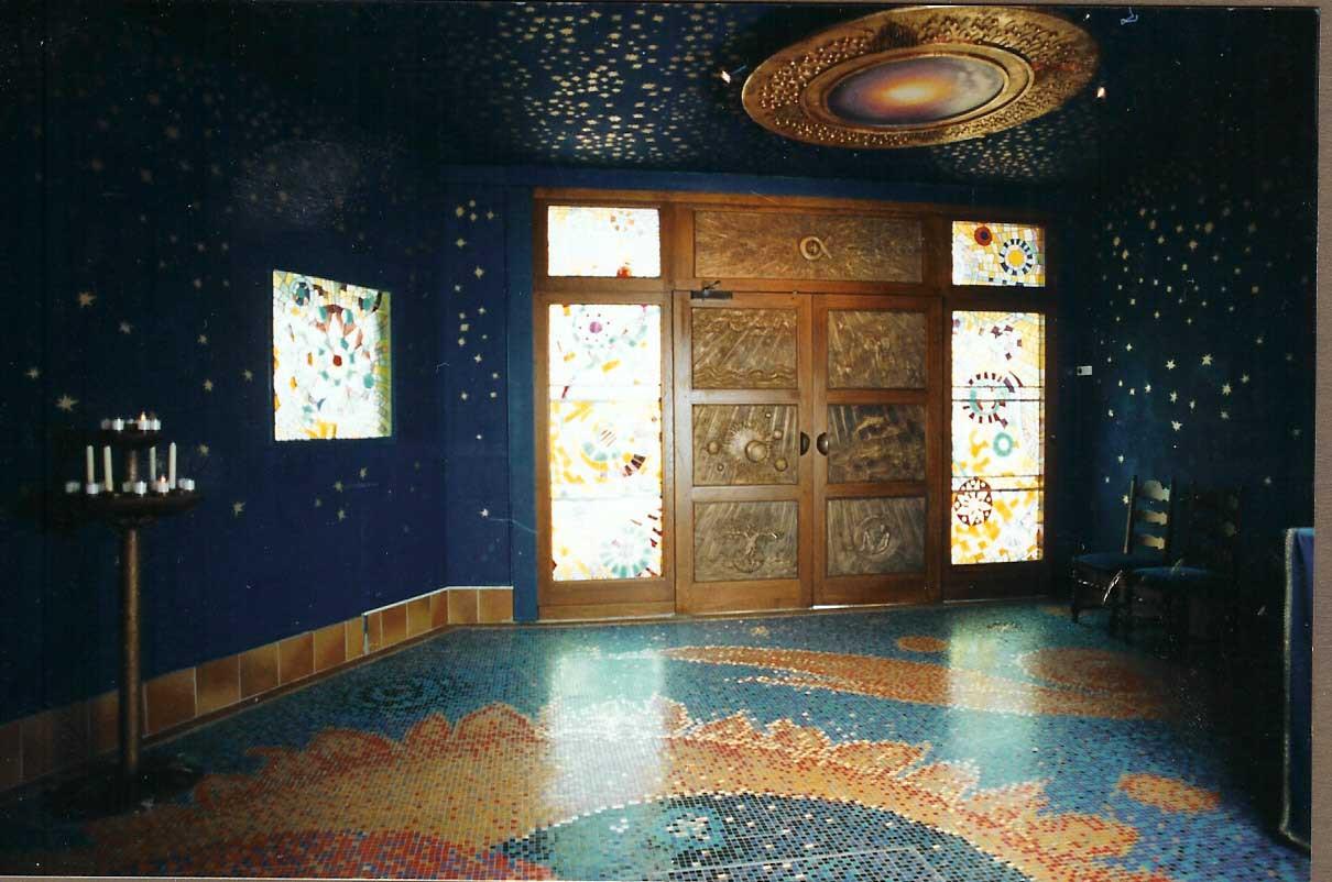 Mosaiques Vitraux Bronzes Cappelle du Gd