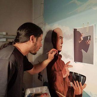 Diaz peinture fresque
