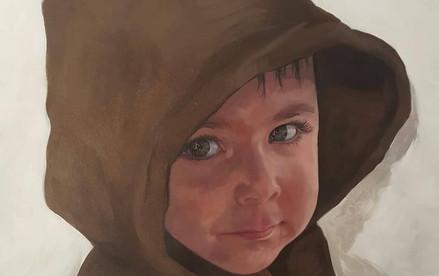 Portrait Théo 80cm x 100cm