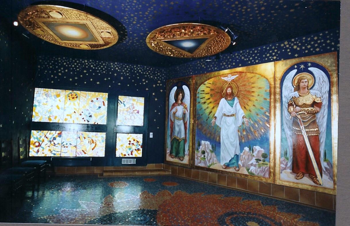 Mosaiques Vitraux Bronzes Triptique Capp
