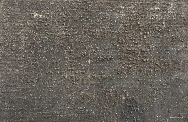 impression tissu enduit et patine béton