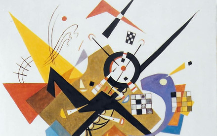 Reproduction peinture Kandinsky