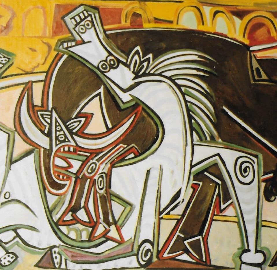 Reproduction peinture Picasso