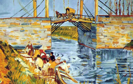 Reproduction peinture Van Gogh