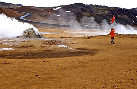 Europe Iceland Hverir & Krafla Power Sta