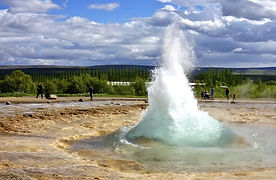 Europe Iceland Golden Circle Geyser 2014
