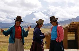Latin America Peru Chinchero Moray 2008