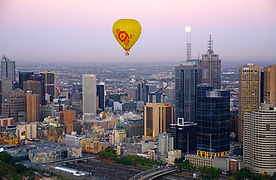 Australia Victoria Melbourne Ballooning