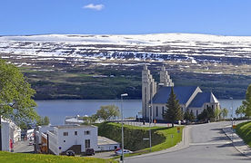 Europe Iceland Akureyri North Iceland 20