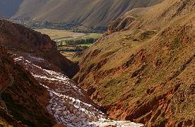 Latin America Peru Salineras Urubamba Va