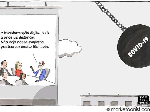 A COVID-19 impulsionou a transformação digital na sua empresa?