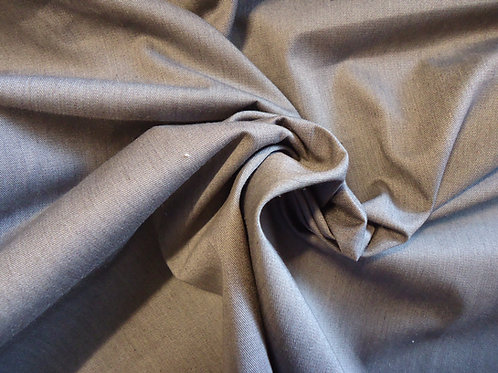 Cotton twill, Charcoal Grey