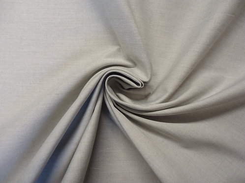 Cotton twill, grey marl