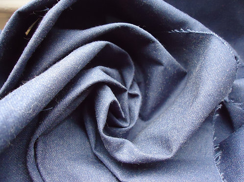 Cotton twill, Navy Blue