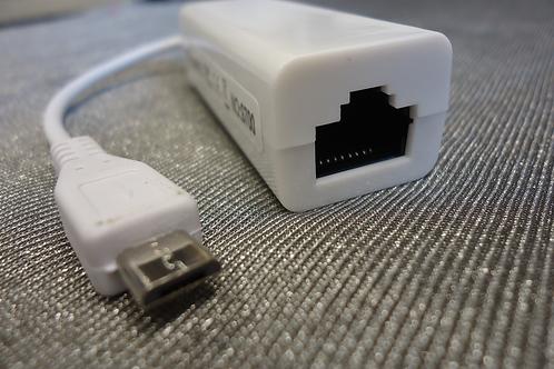 Micro USB 2.0/RJ45 Ethernet Adaptor