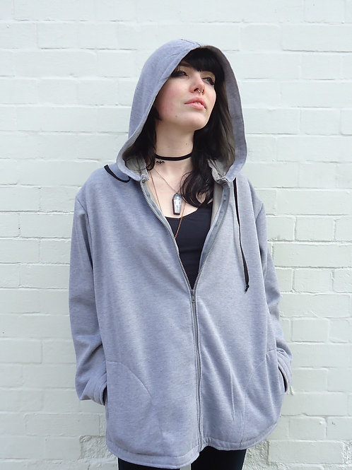 Zip up hoodie w/pockets 5G/EMF Protection