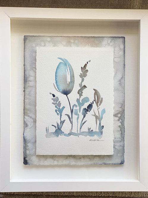 """Framed Floral Series (11x14"""")"""