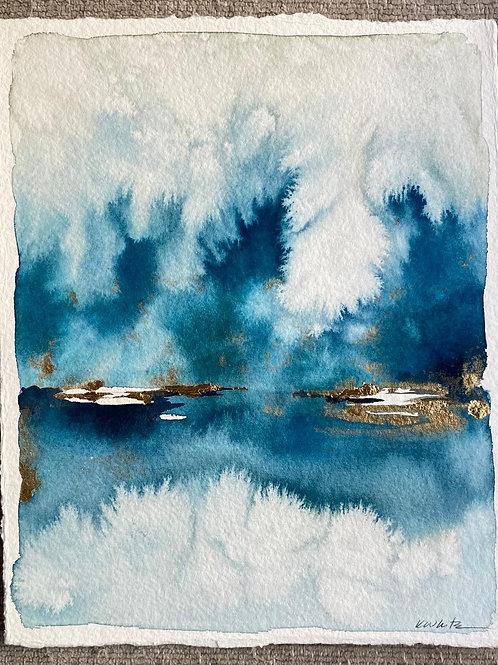 "The Deep Blue (8x10"")"