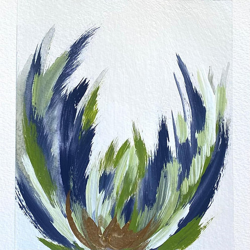 "Bloom 1 (8.25x9.25"")"