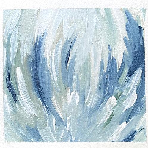 """Bloom 1 (12x12.5"""") - Horizontal Acrylic"""