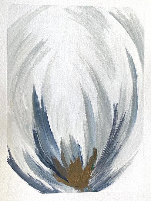 "Bloom 1 (11.5x15"") - Vertical Acrylic"