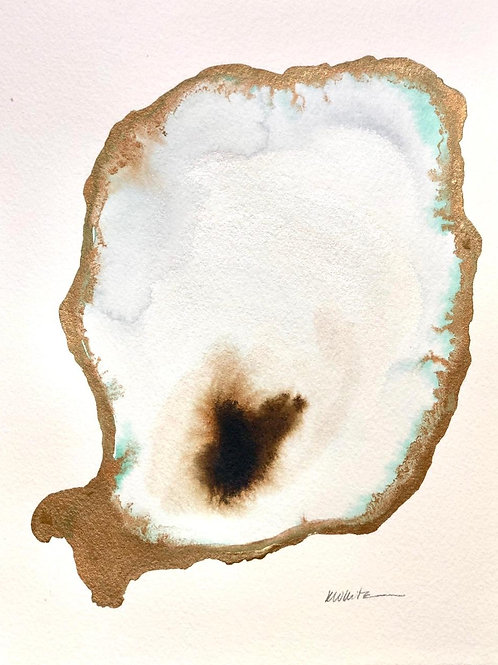 "Single Oyster (5x7"")"