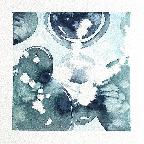 "Splash Collision 1 (8x8"")"