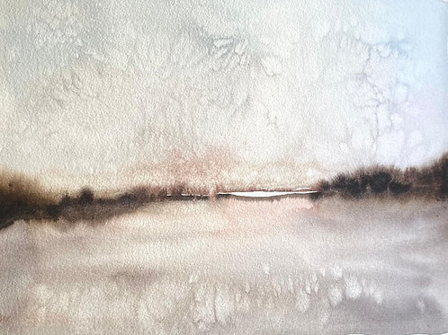 "Dusty  Sunset (12x16"")"