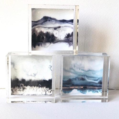 "2"" Acrylic Cubes"
