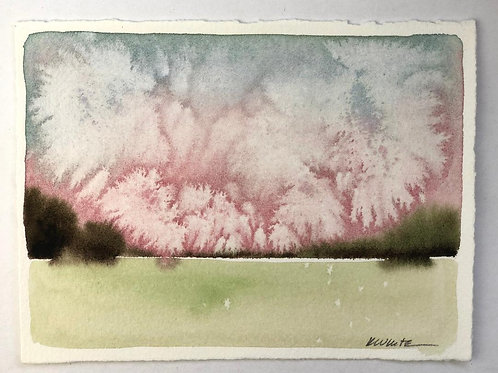 "Pink Clouds (4x6"")"