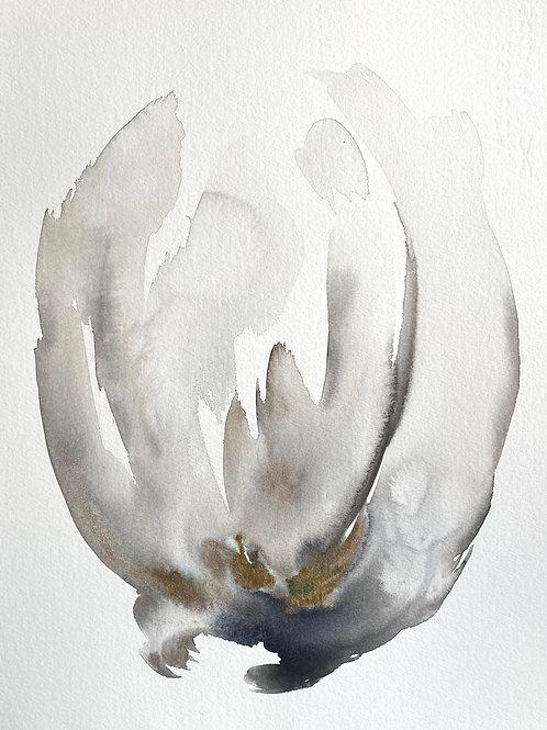 """Watercolor Bloom 3 (11x15"""")"""