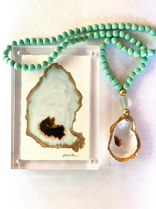 The World is Your Oyster Gift Set (Turquoise)