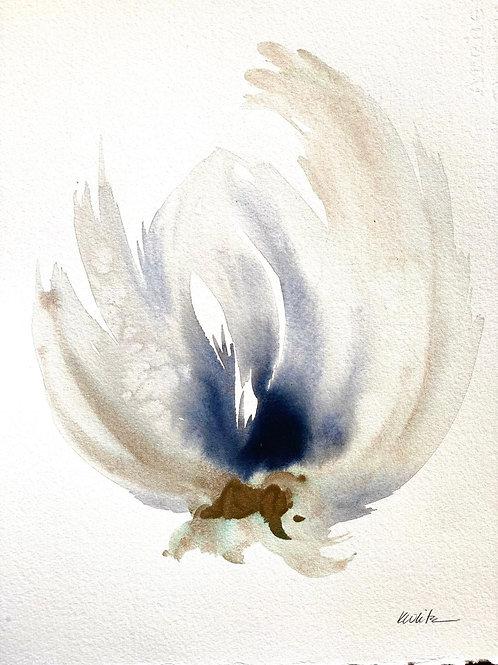 """Watercolor Bloom 2 (11x15"""")"""