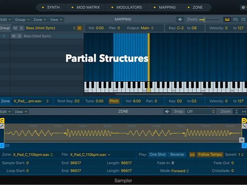 Partial Structures - Logic Pro X Sampler