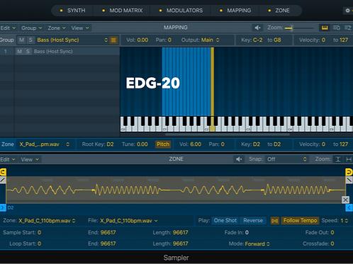 EDG-20 - Logic Pro X Sampler