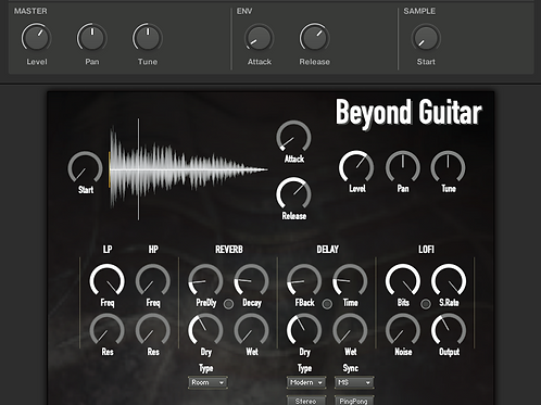 Beyond Guitar - Kontakt / Komplete Kontrol