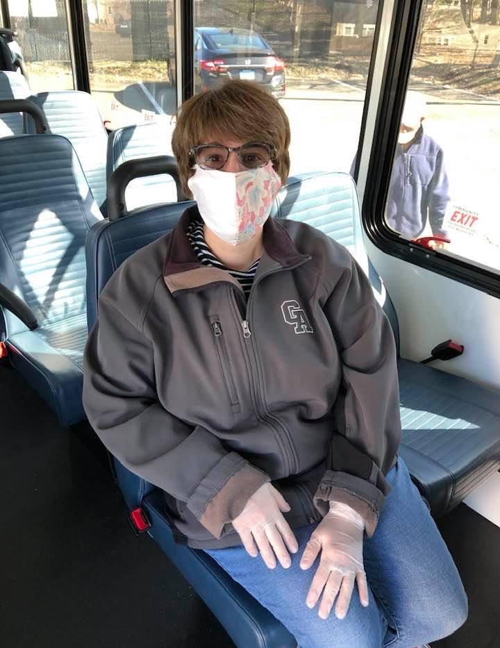 Kristie, TAG employee and volunteer