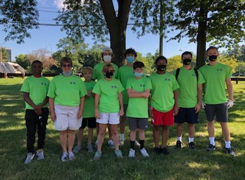 August 2020 Volunteers