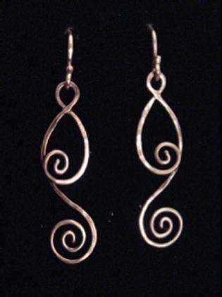 Passe´ Dangle Earrings