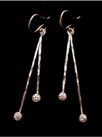Grande jete´ Dangle Earrings