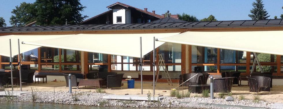 SHADE ONE DESIGN | Sonnensegel bei Stiegler Wohnkultur in Füssen