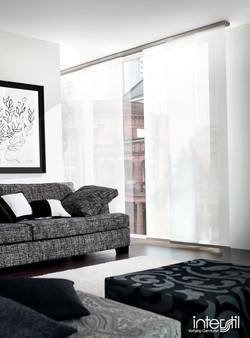 Interstil Flaechenvorhang Deckenschiene -- Stiegler Wohnkultur