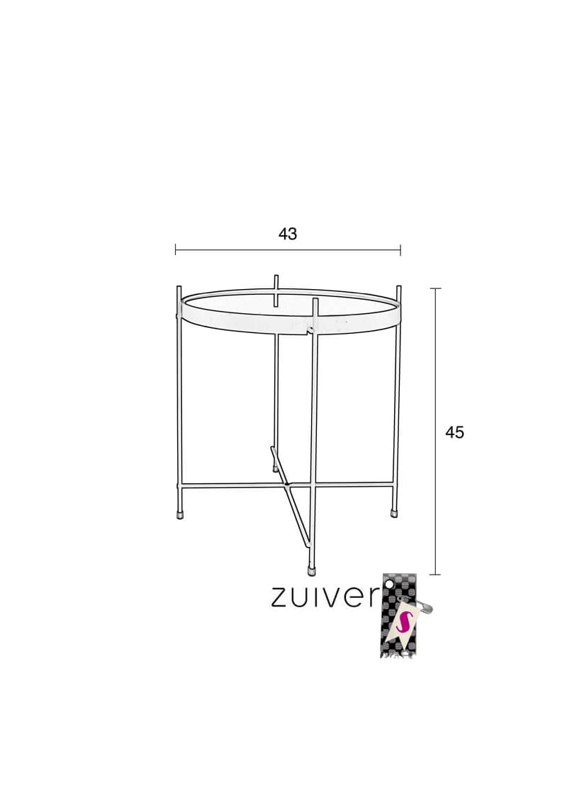 Zuiver_Cupid-side-table_stiegler-wohnkultur6