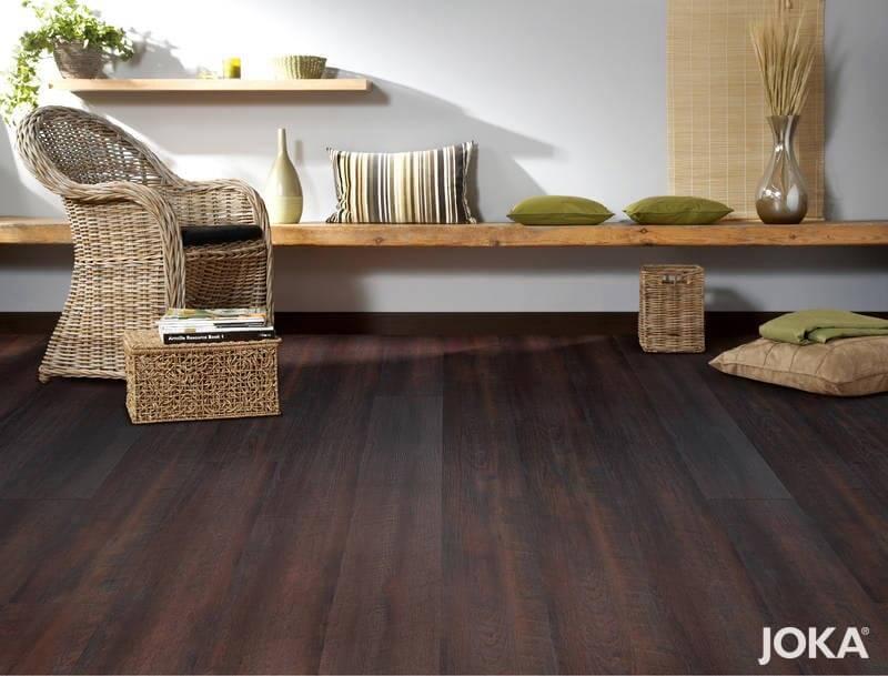 JOKA Vinyl Designboden Scarlet Expresso -- Stiegler Wohnkultur
