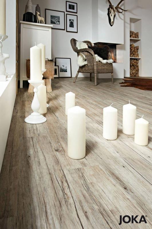 JOKA Vinyl Designboden Coffee Grey -- Stiegler Wohnkultur