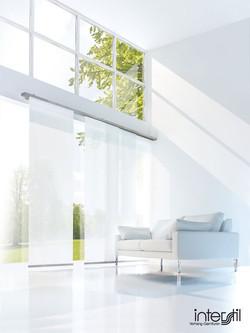 Interstil Flaechenvorhang Wandschiene -- Stiegler Wohnkultur