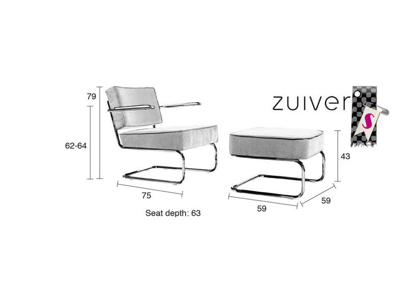 Zuiver_Ridge-Rib-Lounge-Chair-Hocker_stiegler-wohnkultur7