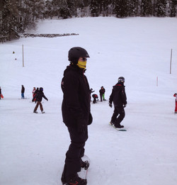 Beginner Skiers and Snowboarders